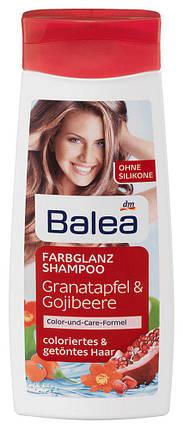 Шампунь Balea для окрашенных волос гранат и ягоды годжи 300мл, фото 2