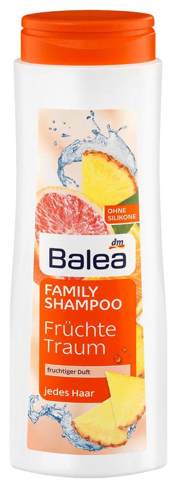 Шампунь для всей семьи Balea Fruchte Traum для всех типов волос 500мл