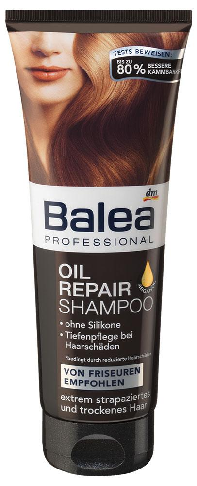 Шампунь Balea Professional для восстановления волос с аргановым маслом 250мл