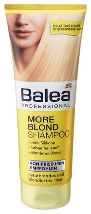Шампунь Balea Professional для светлых волос More blond 250мл, фото 2