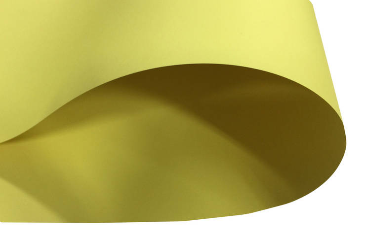 Дизайнерский картон Creative board, матовый лимонный, 270
