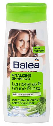 Шампунь Balea для жирных волос лимонная трава и мята 300мл, фото 2