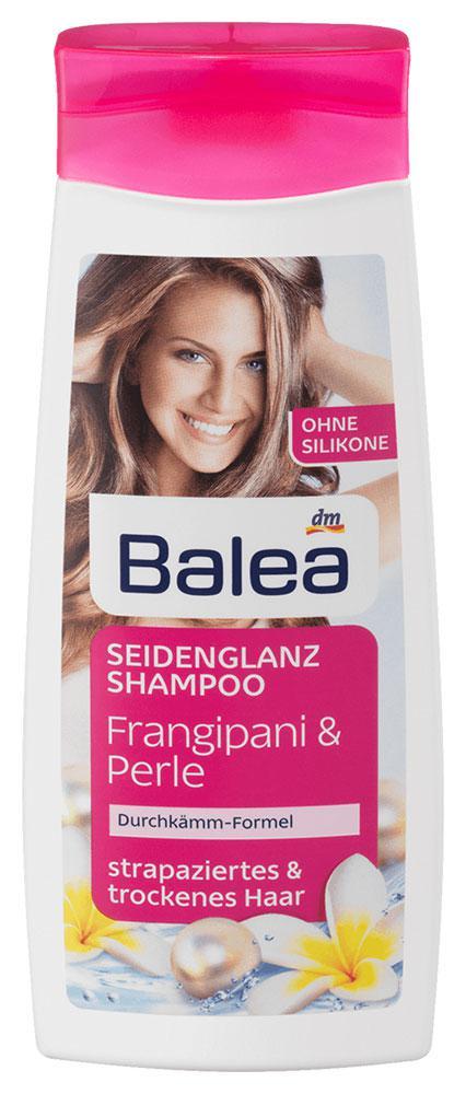 Шампунь Balea для сухих и поврежденных волос жемчуг и франжипани 300мл