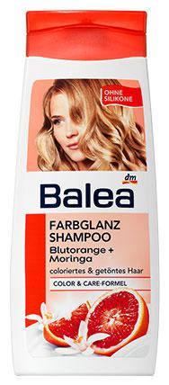 Шампунь Balea для окрашенных волос цветок апельсина и моринга 300мл, фото 2