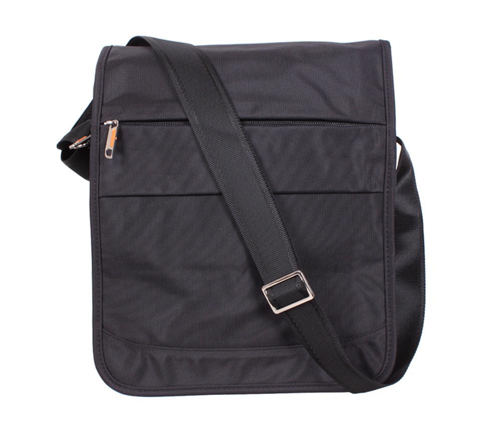 Вертикальная мужская тканевая сумка формата А4 NL8311-1А черная
