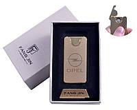"""USB зажигалка в подарочной упаковке """"OPEL"""" (Двухсторонняя спираль накаливания)"""
