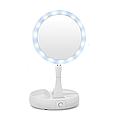 """Круглое Складное зеркало для макияжа My Foldaway Mirror 13"""" с подсветкой Распродажа, фото 5"""