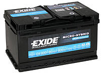 Аккумулятор 77Ah-12v Exide PREMIUM(278х175х190),R,EN760