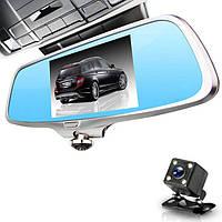 """Панорамный видео регистратор Зеркало 360° с двумя камерами Экран 5"""" Акция !!!"""