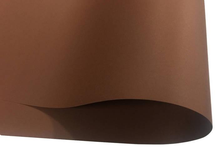Дизайнерский картон Creative board, матовый темно-коричневый, 270