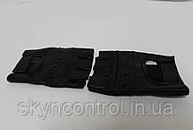 Рукавички шкіряні без пальців, фото 3