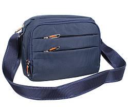 a90e0cd8c7ae Мужская тканевая сумка через плечо горизонтального типа NL6338-24 синяя,  фото 3