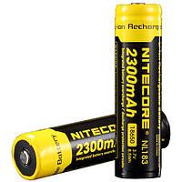Аккумулятор Li-Ion 18650 Nitecore 2300mAh 3,7V 61138