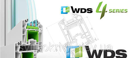 Металлопластиковые окна WDS 4 SERIES, фото 2