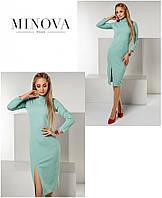 Платье №1142-мята