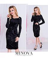 Платье №м103-черный