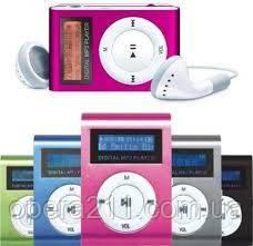 MP3 плеер, копия iPod Shuffle, с экраном