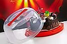 Тортовница с крышкой круглая Irak Plastik, Турция SA-200