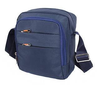 Мужская тканевая сумка через плечо NL6339-24 синяя