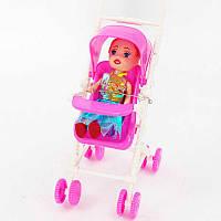 Кукла с коляской 666-21