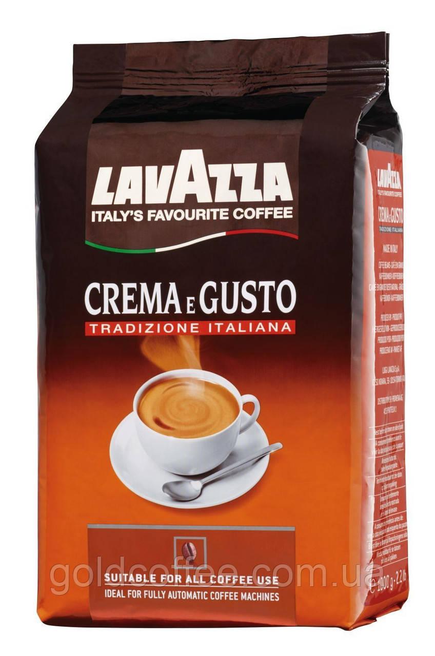 Зерновой кофе Lavazza Crema e Gusto Tradizione Italiana 1кг