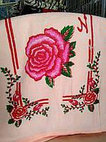 Полотенце роза 50*1,2м