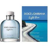 Мужская туалетная вода dolce & gabbana light blue living stromboli 125 ml, фото 1