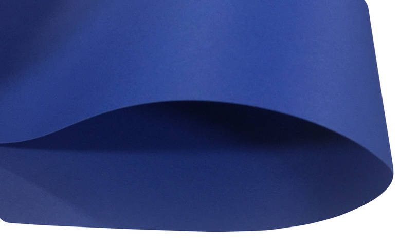 Дизайнерский картон Creative board, матовый синий, 270