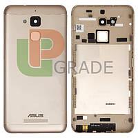"Задняя крышка Asus ZenFone 3 Max 5.2"" ZC520TL, золотистая, оригинал"