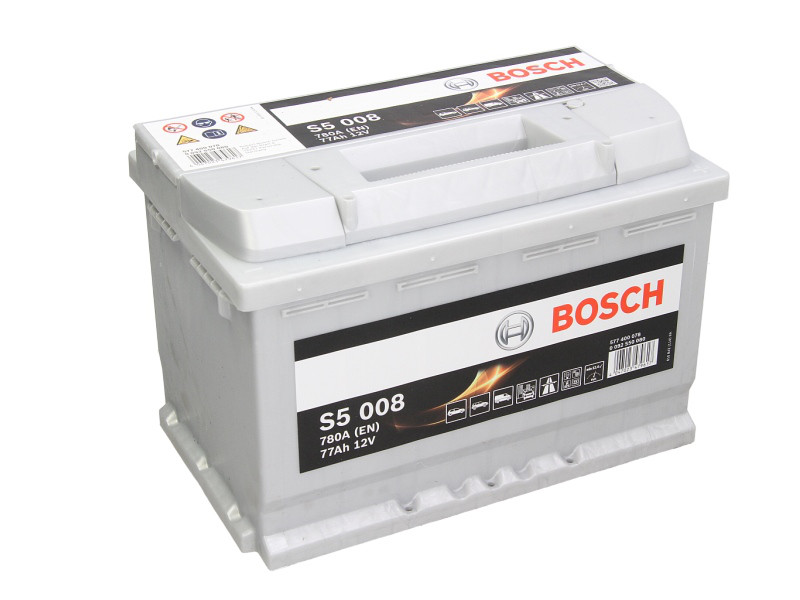 Аккумулятор Bosch S5 77Ah EN780A R+ (S5008)