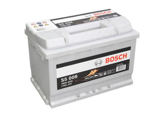 Аккумулятор Bosch S5 77Ah EN780A R+ (S5008), фото 2