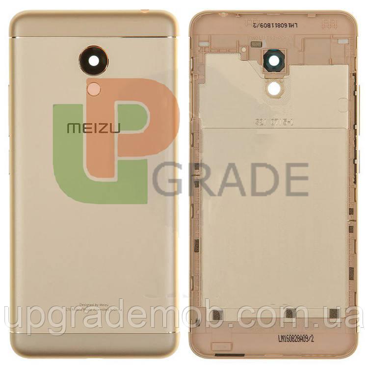 Задняя крышка Meizu M3s (Y685)/M3s mini, золотистая