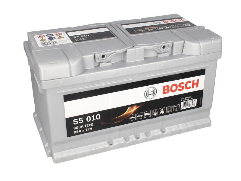 Аккумулятор Bosch S5 85Ah EN800A R+ (S5010)