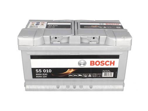 Аккумулятор Bosch S5 85Ah EN800A R+ (S5010), фото 2
