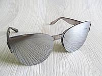 Модные зеркальные очки Диор (реплика)