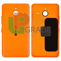 Задняя крышка Microsoft 640 XL Lumia Dual Sim (RM-1062/RM-1065), оранжевая