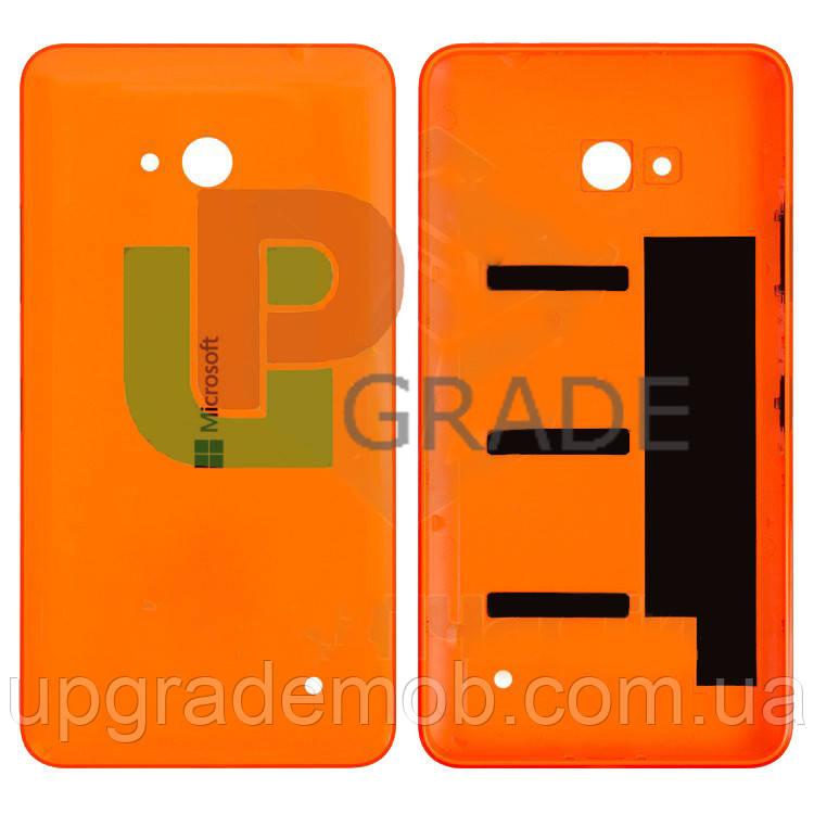 Задня кришка Microsoft 640 Lumia (RM-1072/RM-1077), помаранчева, оригінал