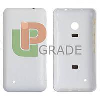 Задняя крышка Nokia 530 Lumia (RM-1017/RM-1019), белая, оригинал (Китай)