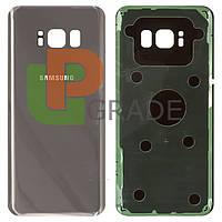 Задняя крышка Samsung G950F Galaxy S8 (2017), серая, Orchid Gray, оригинал (Китай)