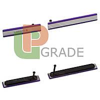 Боковая заглушка Sony D6502 Xperia Z2 L50W/D6503, фиолетовая, полный комплект (2 шт.)