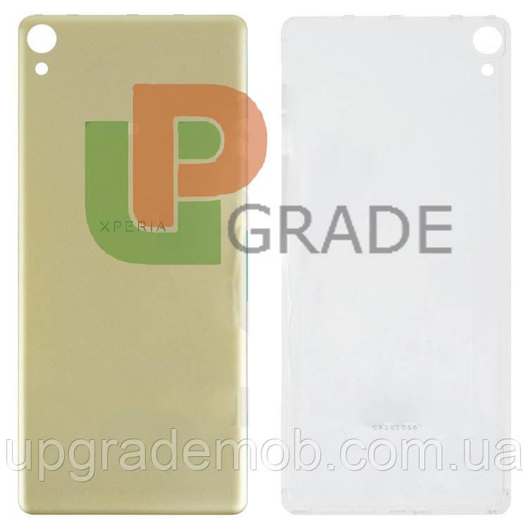 Задняя крышка Sony F3111 Xperia XA/F3112/F3113/F3115/F3116, золотистая, Lime Gold, оригинал