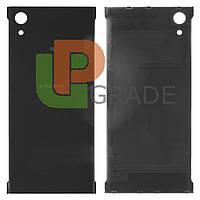 Задняя крышка Sony G3112 Xperia XA1 Dual/G3116/G3121/G3123/G3125, черная, оригинал (Китай)