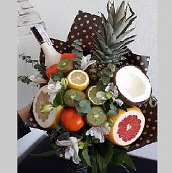 Букет фруктов овощей + цитрусові