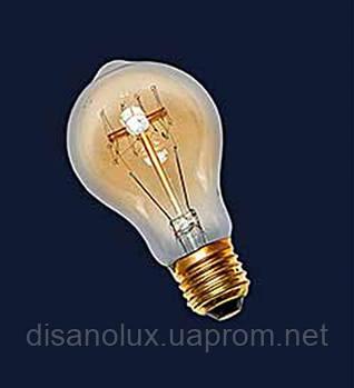 Лампа Эдисона А60 40W 2700K Amber 220V