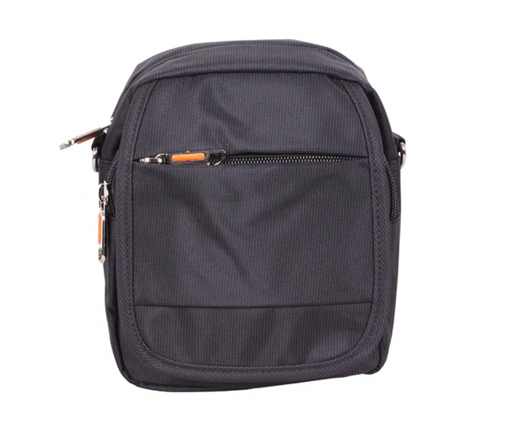 01a7f10ed095 Маленькая мужская сумка на пояс и через плечо черная NL231-11 - АксМаркет в  Киеве