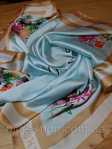 Шелковый платок в стиле Эрмес