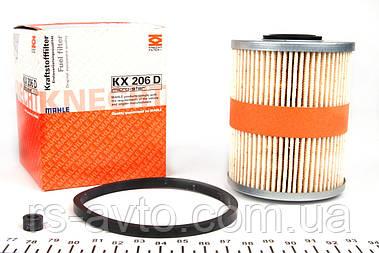 Фильтр топливный Renault Master, Рено Мастер , Opel Movano 1.9dTi, 2.5D, 2.8dTi 98- KX 206D