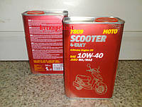 Полусинтетическое масло для 4-тактных двигателей  Mannol 7809 SCOOTER 4-TAKT 10W-40 1L