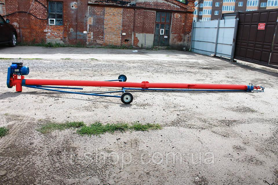 Шнековые погрузчики ø 108 мм, длинна 7 000 мм.