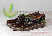 Кожаные лаковые женские туфли Maximoda 96к  38 размер, фото 1
